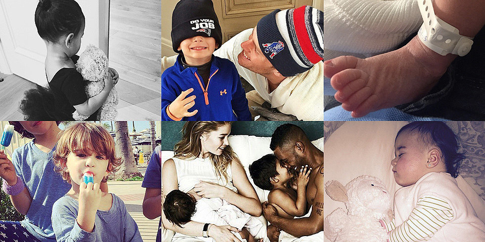 Gisele, Kim, Shakira, and More Shared the Sweetest Snaps of Their Kids This Week