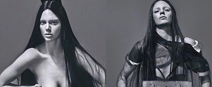 Kendall Jenner's Topless Photos Will Make 2015 the Year of the Boobs