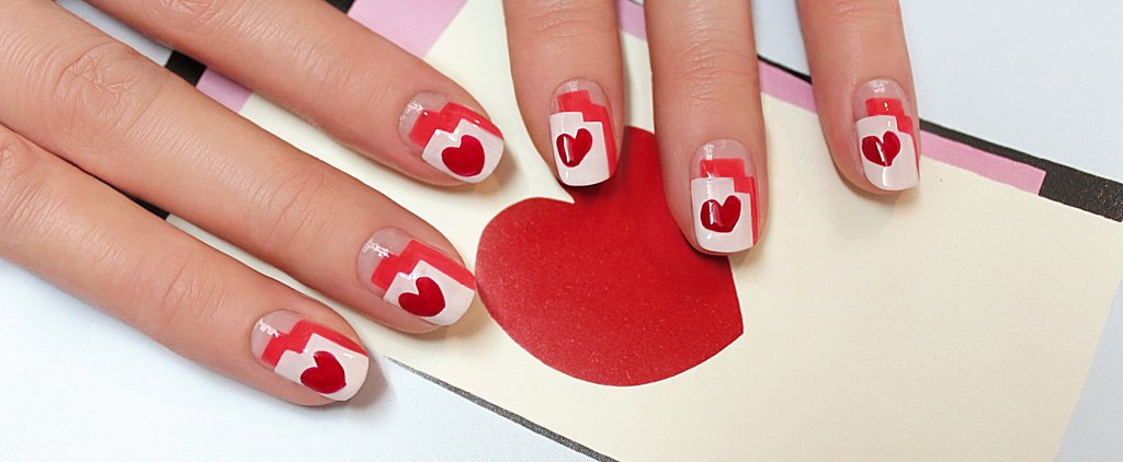 This Isn't Your Average Valentine's Day Heart Manicure