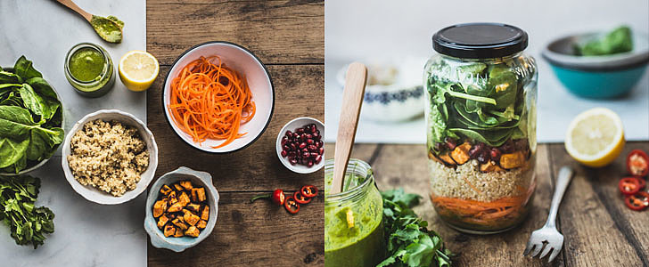 This Mason Jar Quinoa Salad Is Just the Brown-Bag Lunch Shake-Up You Need