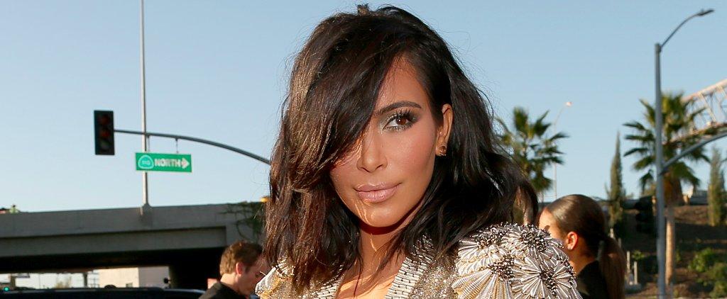 Kim Kardashian's New Lob Dominated at the Grammys