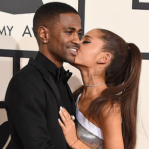 Ariana Grande and Big Sean Celebrity PDA at 2015 Grammys