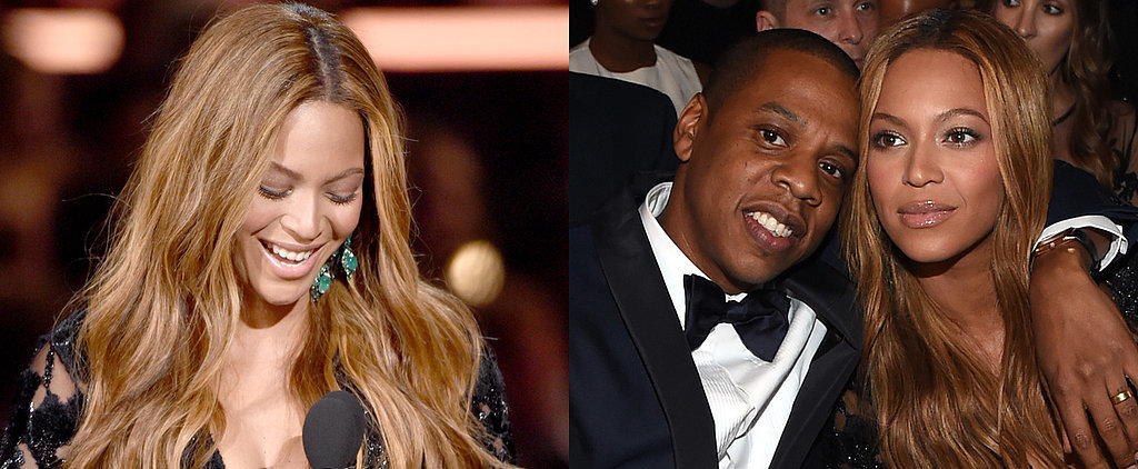 "Beyoncé Thanks Her ""Beloved Husband"" and Blue Ivy After a Grammys Win"