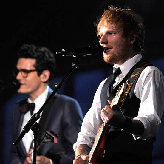 Ed Sheeran and John Mayer Perform at the Grammys | Video