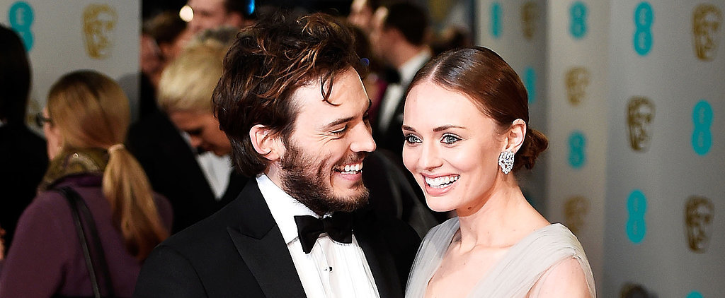 Proof That Sam Claflin and Laura Haddock Are the Cutest Red Carpet Couple