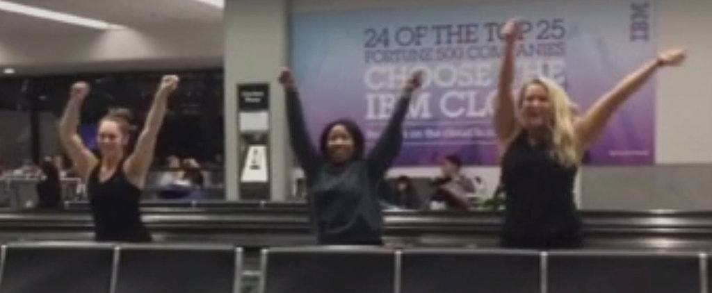 You're Going to Want to Watch This Airport Dance Video, Like, 10 Times