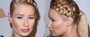 Iggy Azalea's Reverse Plaited Pony Is Our New Second-Day Style