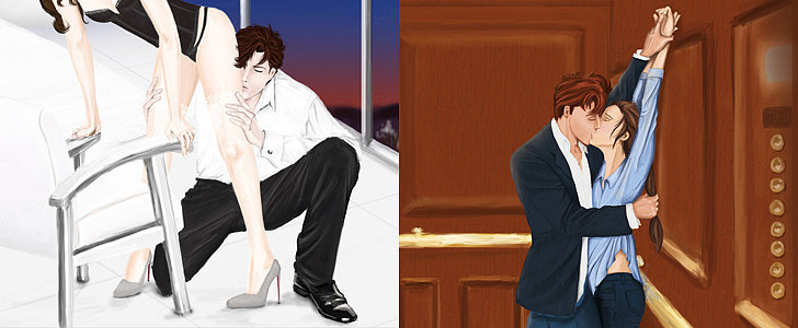 POPSUGAR Shout Out: Get Ready For Fifty Shades of Grey With This Steamy Fan Art