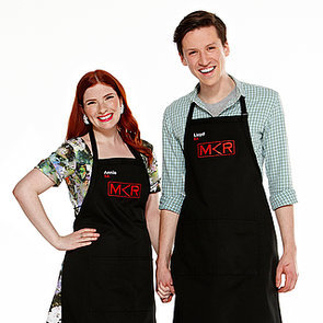 My Kitchen Rules 2015 Contestants Annie and Lloyd