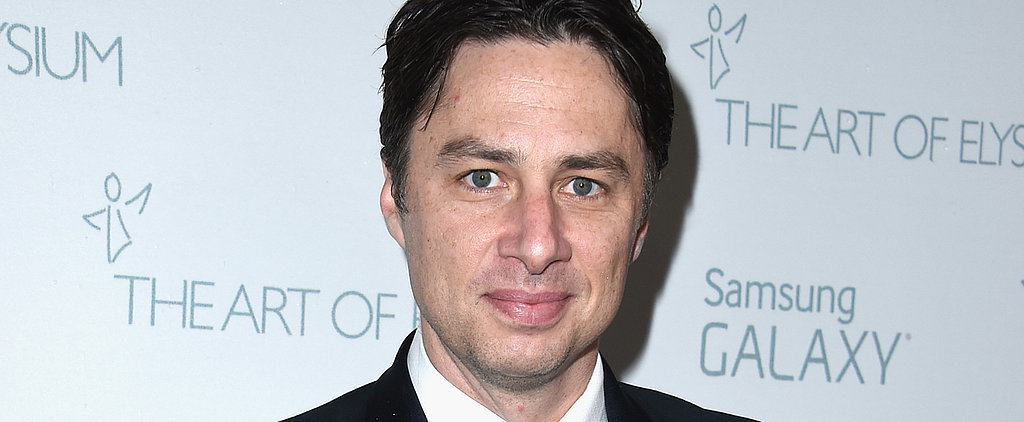 Zach Braff Apologizes For Offensive Tweet During the Grammys