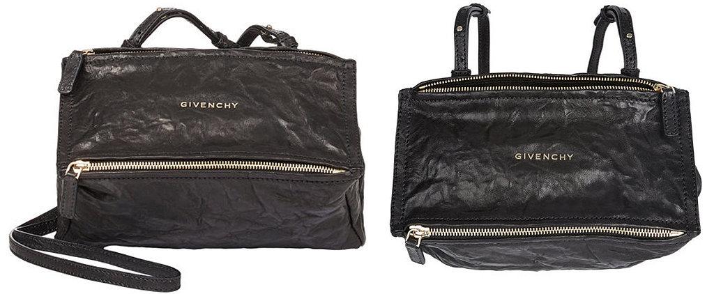Celebrity Handbag Identified: The Givenchy Mini Pepe Pandora Messenger