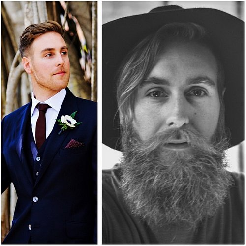 Before and After Beard Transformations