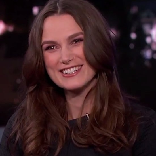 Keira Knightley and Jimmel Kimmel Talk About Babies
