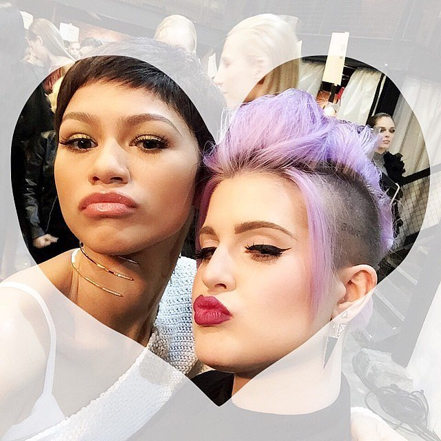 Kelly Osbourne was for real when she mentioned her friendship with Zendaya in