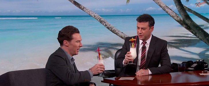 Jimmy Kimmel Throws Benedict Cumberbatch a Tropical Honeymoon
