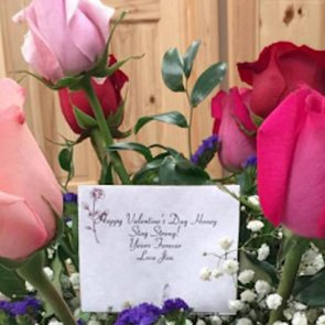 Woman Gets Valentine's Day Flowers From Husband After Death