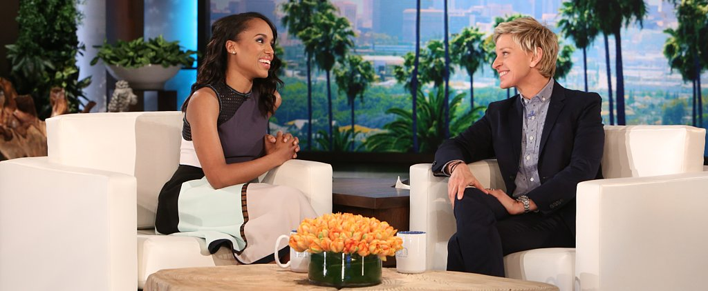 Kerry Washington Reveals the Hilarious Reason She Missed That Epic Oscars Selfie
