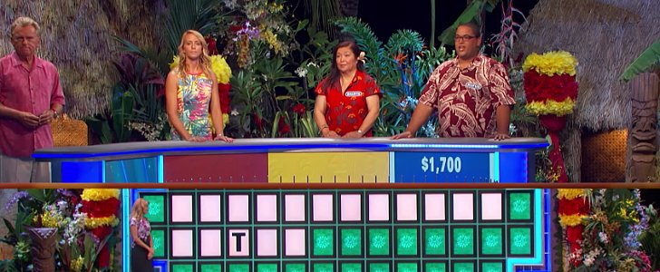 Wheel of Fortune Contestant Shocks Everyone by Solving a Puzzle With 1 Letter