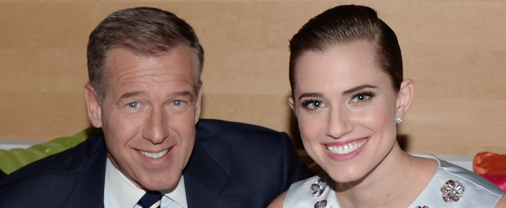 "Allison Williams Says Dad Brian Williams Is an ""Honest"" and ""Truthful"" Man"