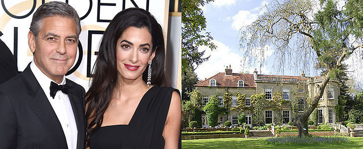 The Scary Reason George and Amal Are Adding a Panic Room to Their English Mansion