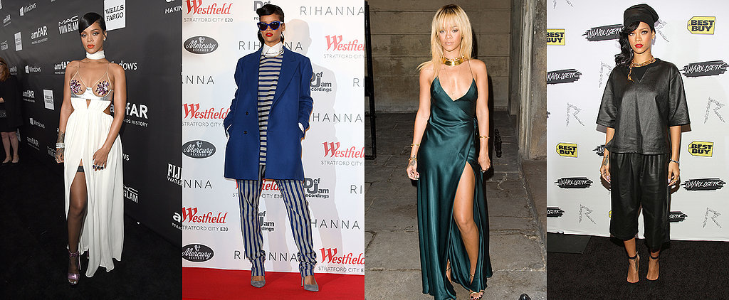 It Only Takes FourFive Seconds to Prove Rihanna's Style Is a Constant #Slay