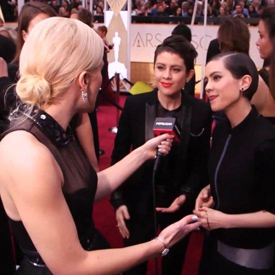 Tegan and Sara Oscars Interview