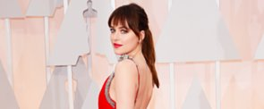 See All Angles of Dakota Johnson's Perfect Ponytail at the Oscars