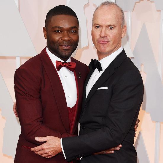 David Oyelowo and Michael Keaton at the Oscars 2015 | Photos