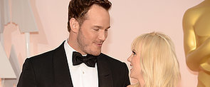 Chris Pratt and Anna Faris Get Goofy at the Oscars