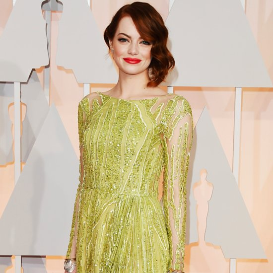 Emma Stone's Oscars 2015 Dress