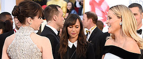 The Oscars Red Carpet Makes For Some Amazing Candid Moments