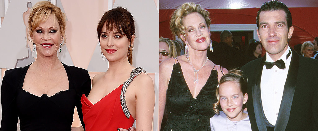 Melanie Griffith and Dakota Johnson Had a Girls' Night Out at the Oscars