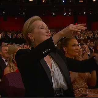 Everyone in the Audience Freaked Out at Patricia Arquette's
