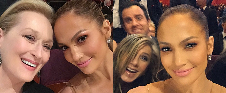 Jennifer Lopez Snapped the Best Oscars Selfies