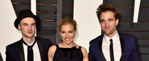 Robert Pattinson Rolls With His Fellow Brits to Vanity Fair's After-Party
