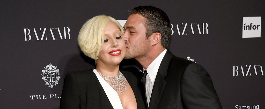 Lady Gaga's First Ring From Taylor Kinney Was a . . . Ring Pop?