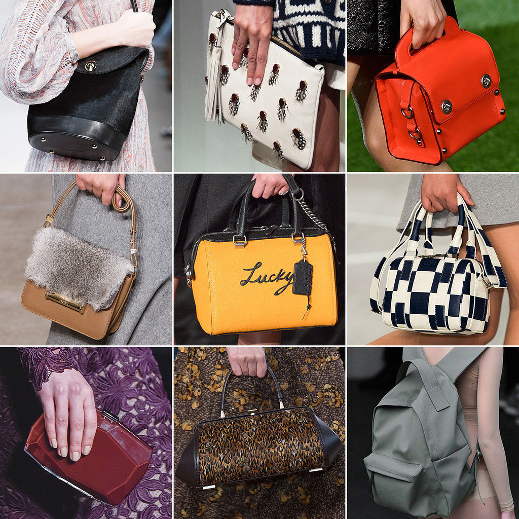 New For Auntum 2015: Best Runway Bags At New York Fashion Week Fall 2015