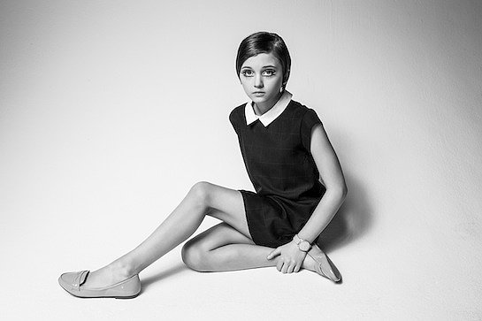 Re-Creation of Twiggy in the Early '60s