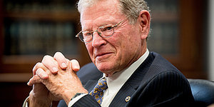 Jim Inhofe Brings A Snowball To The Senate Floor To Prove Climate Change Is A 'Hoax'