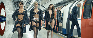 A Lingerie Show on the London Tube? That's 1 Way to Brighten Up the Commute