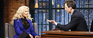 Christina Aguilera Continues Her Incredible Impression Streak