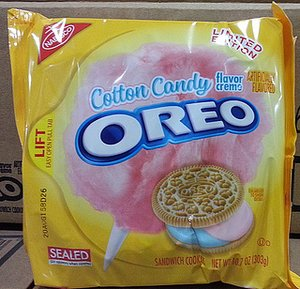 Cotton Candy Oreos Join the Cookie's 28 Other Flavors