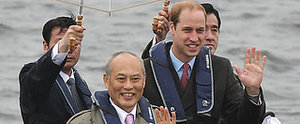 Prince William Kicks Off His Time in Japan With a Tea Ceremony