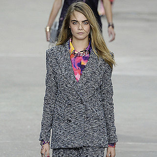 Cara Delevingne Modeling on the Fall 2015 Runways