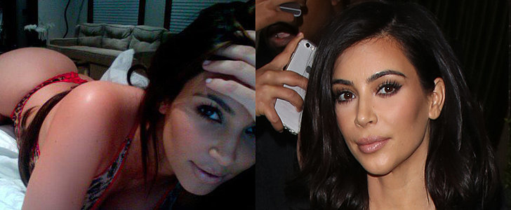 You Just Can't Look Away From Kim Kardashian's New Butt Picture