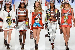 "Moschino Attempts To Revive The Worst ""Trend"" Of The 90s"
