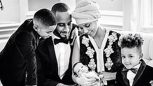 Alicia Keys Shows Off 2-Month-Old Baby in Most Adorable Family Pic!