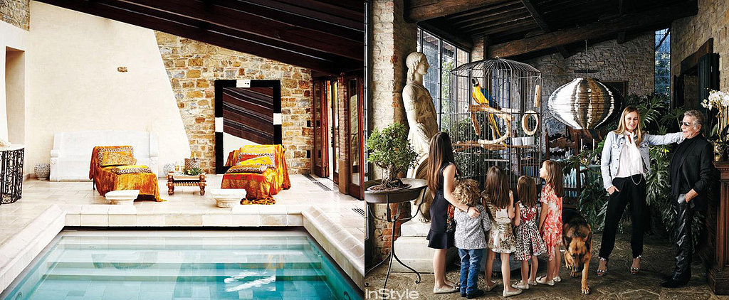 Roberto Cavalli's Italian Villa Is as Glam as You'd Expect