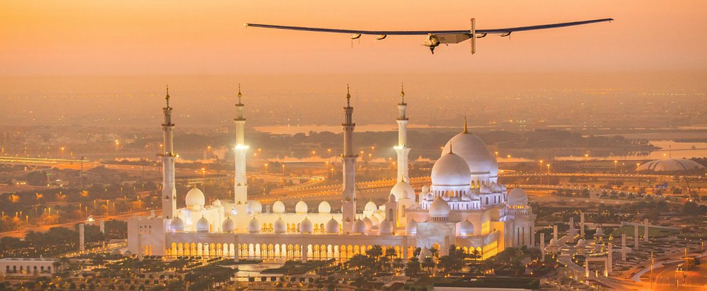 Guess What This Plane Is Using to Fly Around the World?