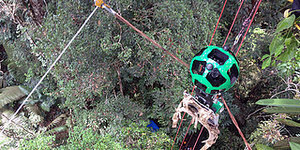 Zip-Line Through The Amazon Jungle With Google's Newest Street View Feature